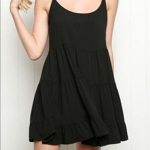 Brandy Melville Black Jada Dress, OS